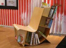 La chaise porte-revues