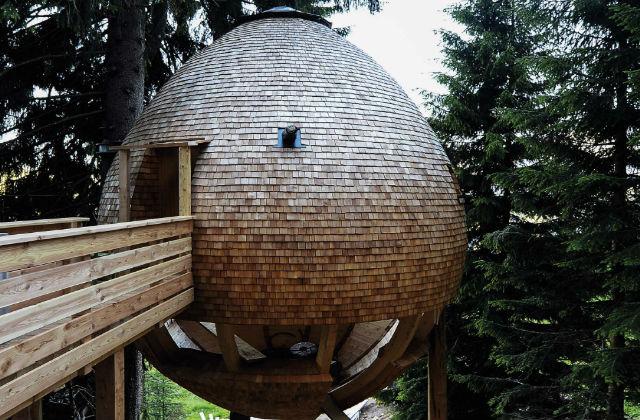 Les maisons « Pigne » au cœur des Alpes