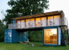 ContainHotel : l'hôtel conteneur écologique