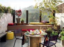 Originaux accessoires pour une terrasse moderne