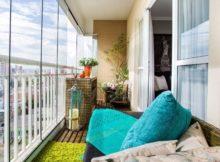 Comment meubler un balcon fermé : voilà des photos et nos idées