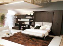 Le mobilier sauve-espace pour les studios et d'autres types de maisons