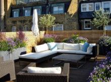 Comment décorer la terrasse selon le style londonien