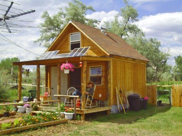 Une petite maison de 18 mètres carrés construite avec 2.000 Euros