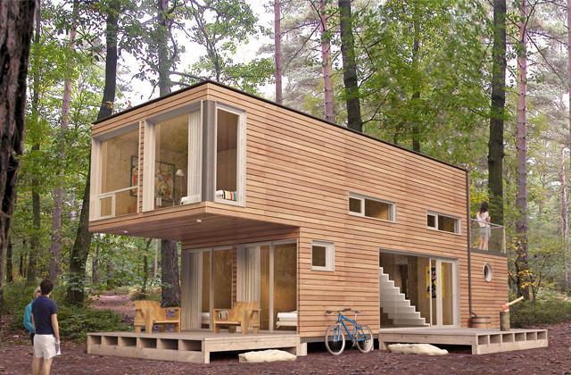 Comment transformer des conteneurs en maisons avec 2.000€!