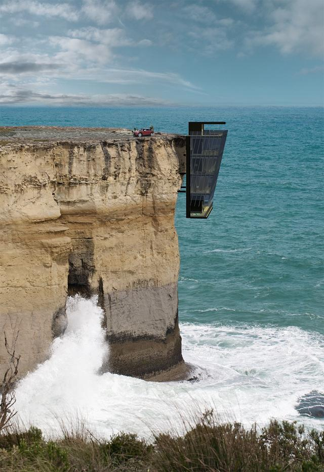 Cliff House: maison panoramique avec frisson