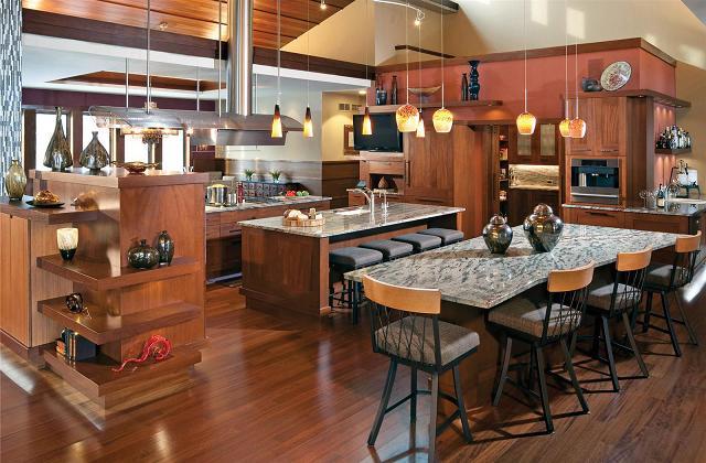 Comment meubler une cuisine américaine