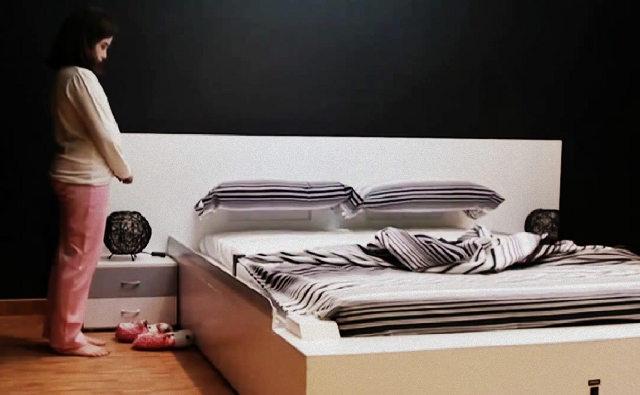 Le lit qui se fait tout seul