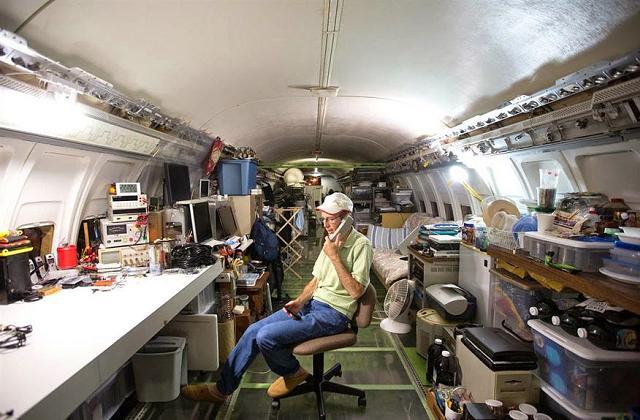 Transformer un avion en maison