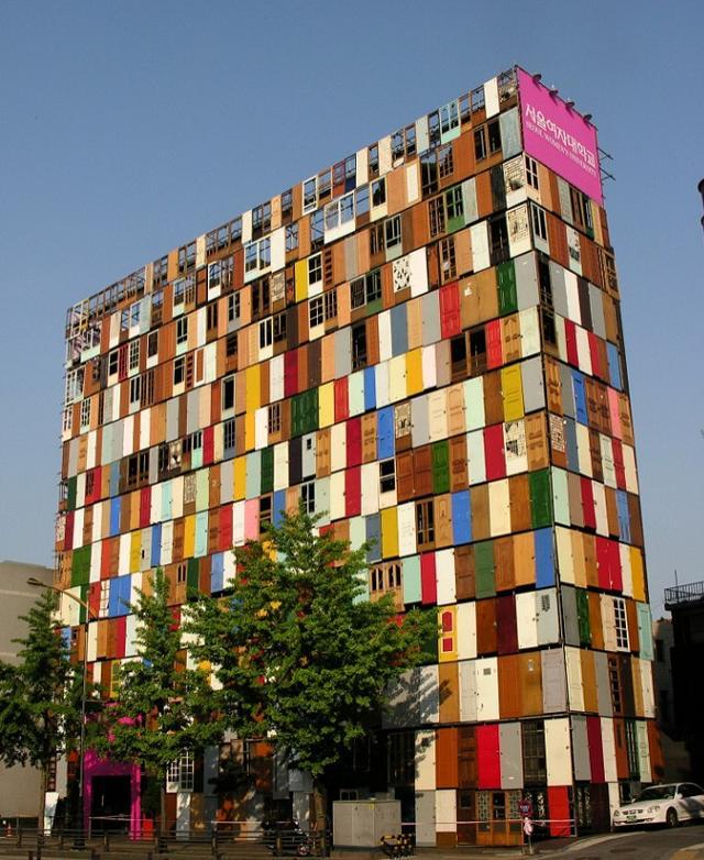 L'immeuble de 1000 portes