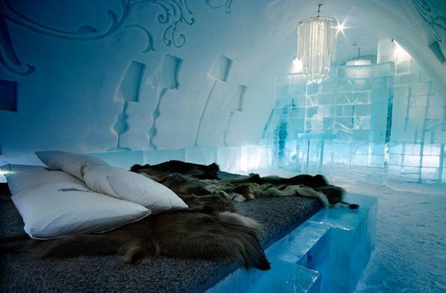 l'hôtel de glace le plus grand au monde
