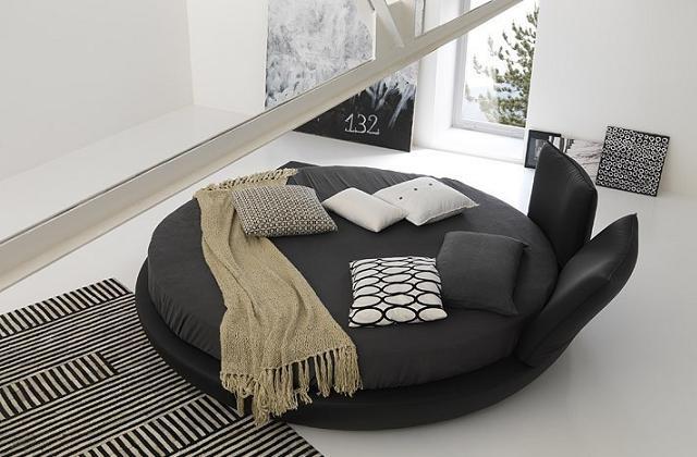 Le lit rond : un ornement unique pour votre chambre