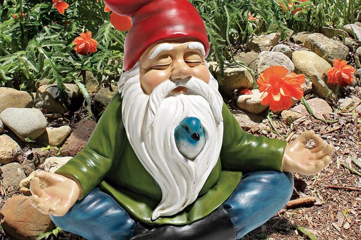 Le nain de jardin zen