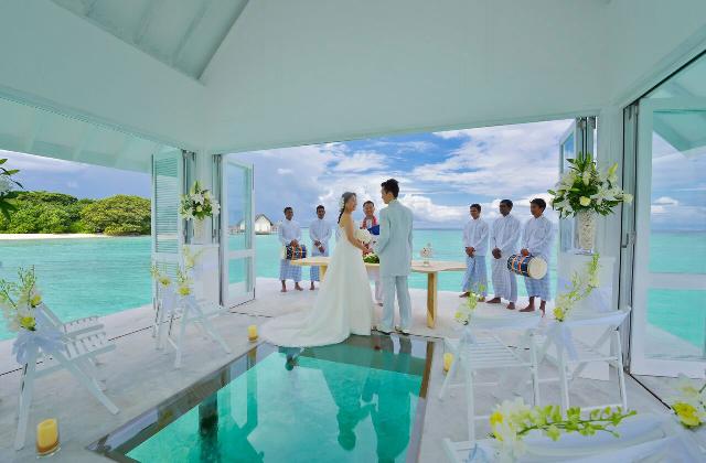 Se marier au milieu de la mer : ce n'est plus un rêve mais une réalité
