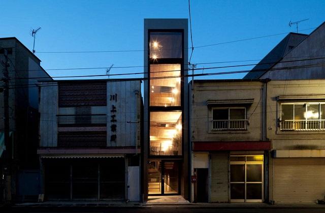 La maison la plus étroite au monde, mais avec des intérieurs spectaculaires