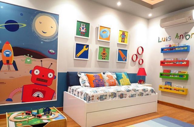 Idées et couleurs pour la chambre de vos enfants