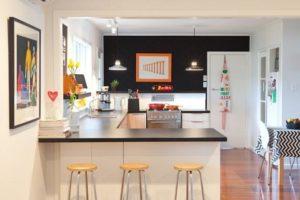 Des idées pour la cuisine avec péninsule