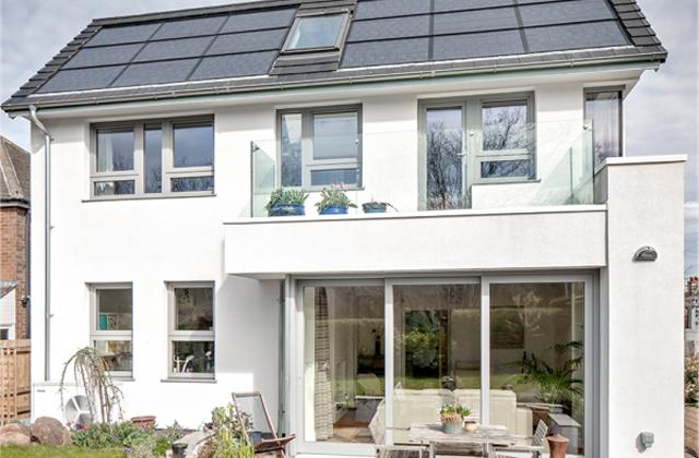 Une maison photovoltaïque qui coûte 1,80 € par mois
