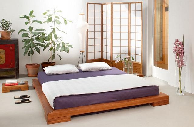 Futon, matelas typique de la tradition japonaise