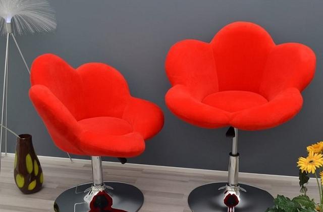 Le tabouret-chaise en forme de fleur