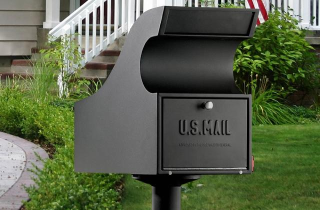 La boîte aux lettres avec coffre-fort
