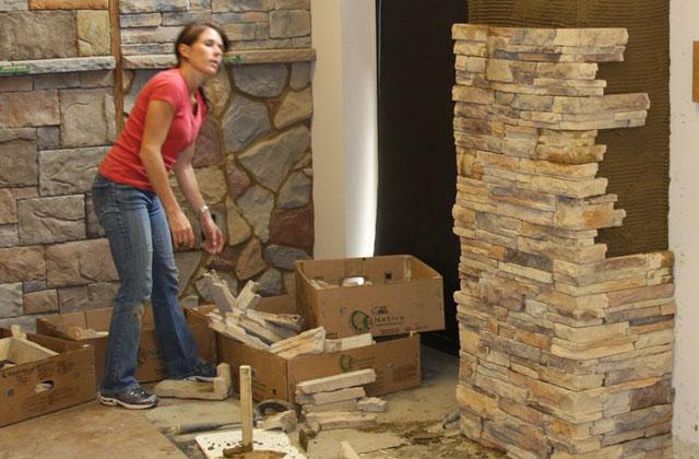 Comment cr er un mur de fausse pierre facilement page 3 - Comment savoir si je fais une fausse couche ...