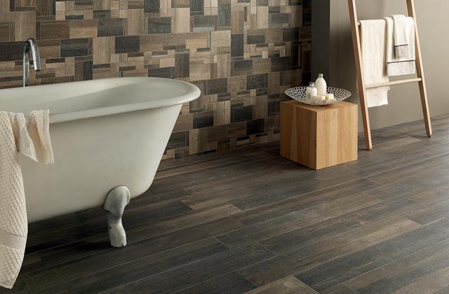 Utiliser le grès porcelainé dans la salle de bains
