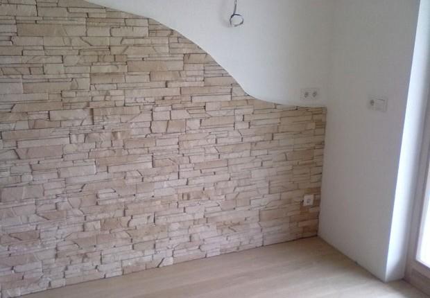 Comment cr er un mur de fausse pierre facilement - Comment faire un mur en pierre ...