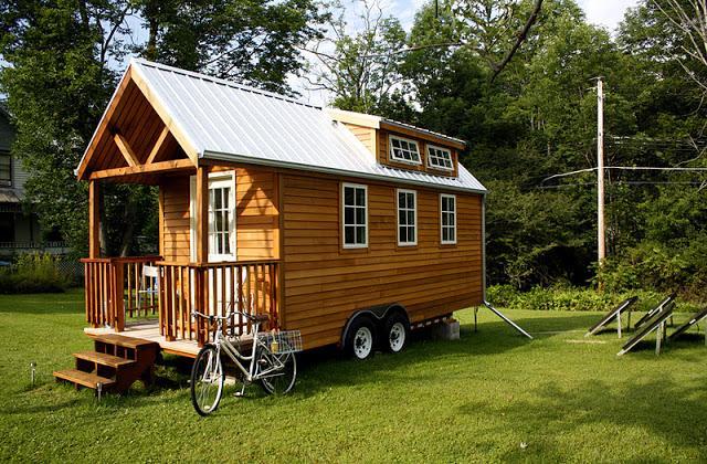 La maison écologique et de design, sur roues