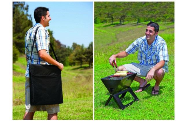 Le barbecue portable pour organiser un pique-nique partout
