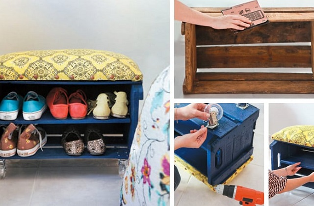 Comment utiliser les cageots de fruits en bois pour décorer la maison