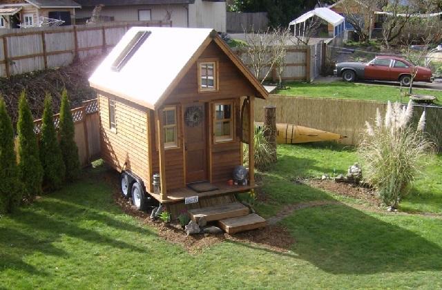 Comment vivre dans des maisons minuscules