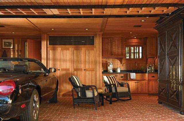 Comment transformer notre vieux garage en un original coin de détente