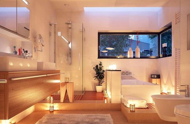 Transformer la salle de bains en un spa