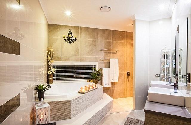 aménager coin salle de bain