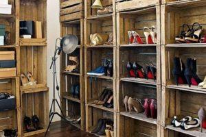 Comment construire une armoire à chaussures originale