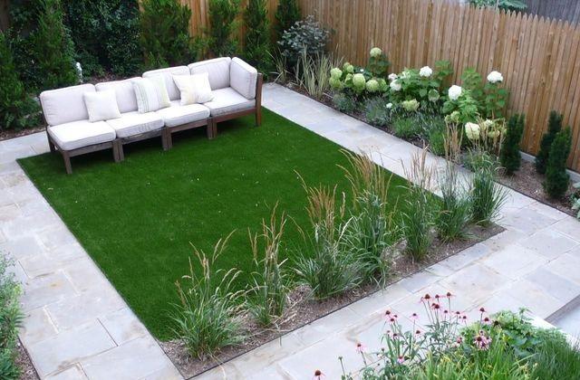 Comment décorer un petit jardin, en le faisant paraître plus large