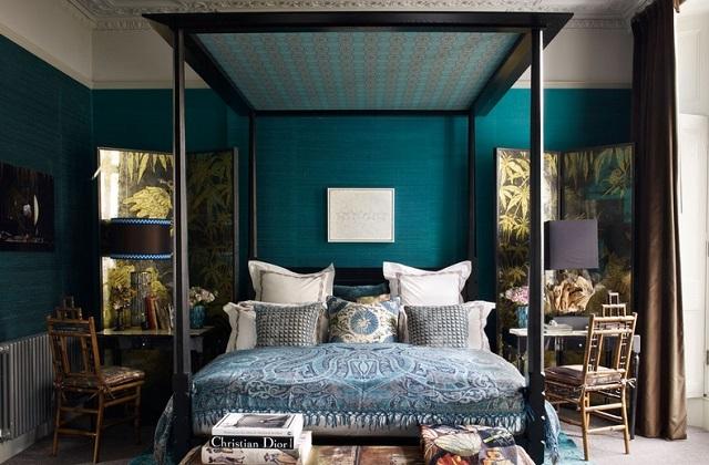 Peindre et décorer la chambre à coucher en quelques étapes faciles