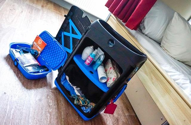 Jurni, la valise parfaite pour ceux qui aiment l'ordre en vacances
