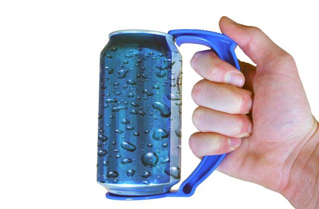 La manche porte canettes de bière