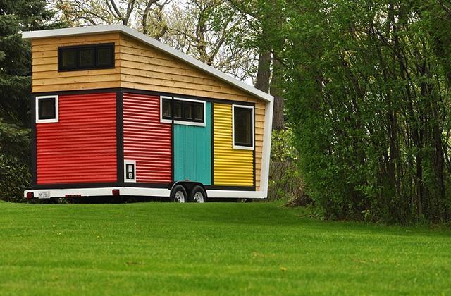 La petite maison mobile qui cache des pièces magnifiques