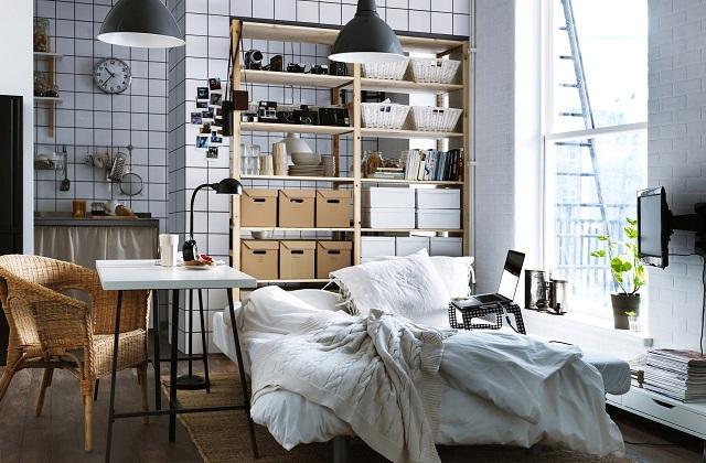 Des solutions intelligentes pour meubler un studio
