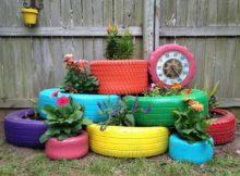 Bricolage : comment recycler les pneus