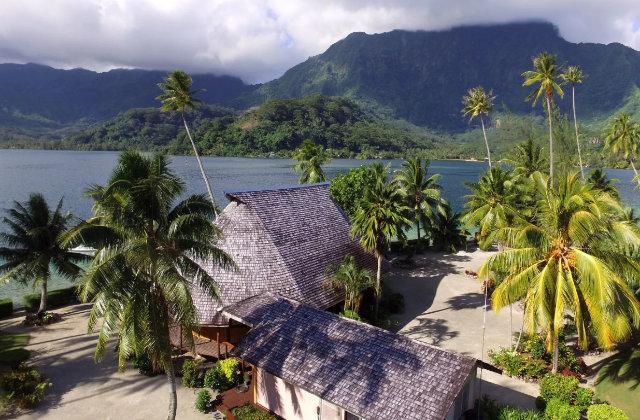 Une merveilleuse île en Polynésie est en vente