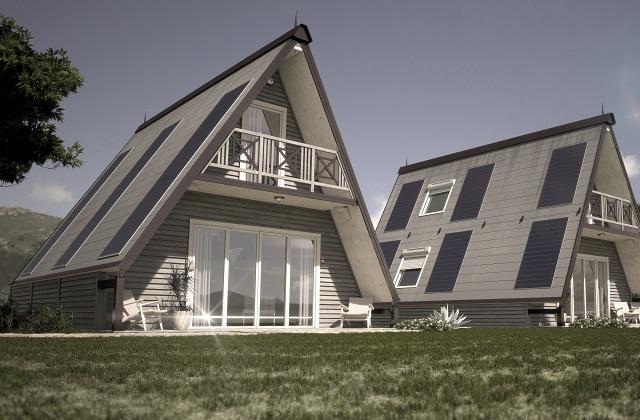 Cette maison pliable italienne peut être construite en 6 heures