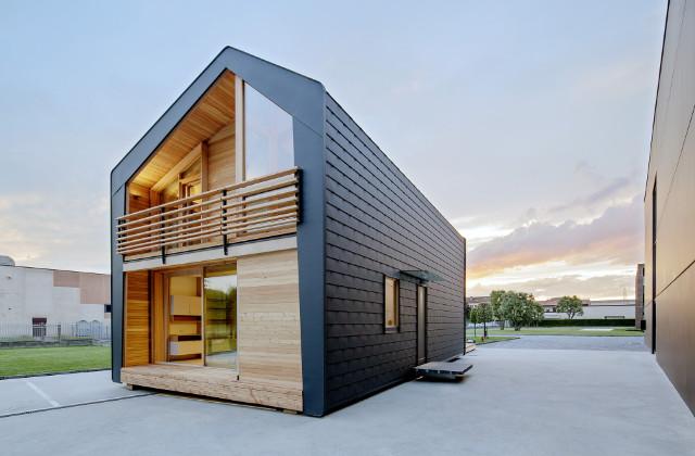 Leaphome : la maison économe en énergie et facile à construire