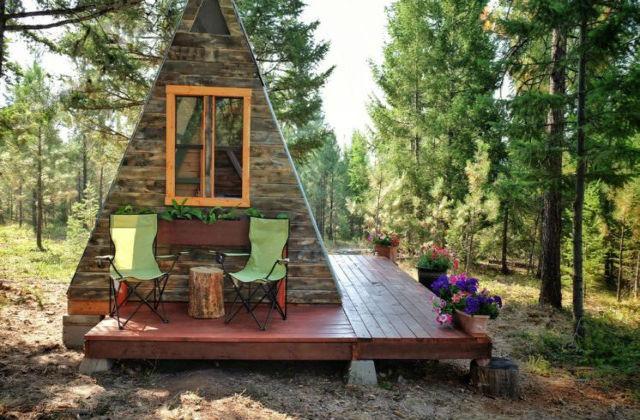 Une maison construite avec 600 euros en 3 semaines