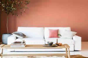 Décorer la maison avec la couleur pêche