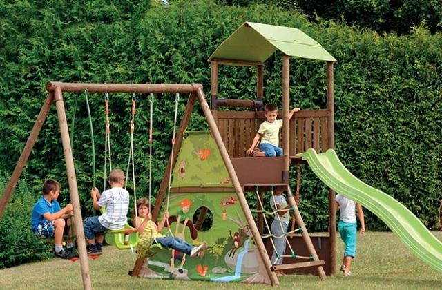 Le jardin à mesure d'enfants
