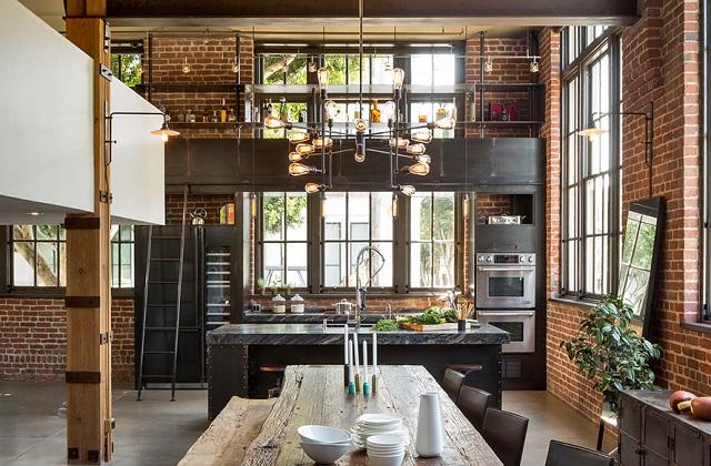 Votre maison change : l'ameublement industriel chic